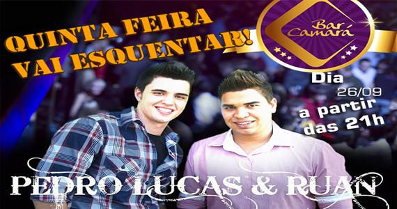 Bar Camará recebe dupla Pedro Lucas & Ruan para agitar a noite com muito sertanejo Eventos BaresSP 570x300 imagem