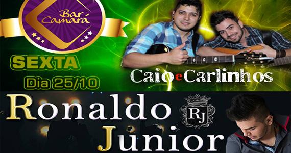 Caio & Carlinhos e Ronaldo Junior embalam a noite de sexta-feira no Bar Camará Eventos BaresSP 570x300 imagem