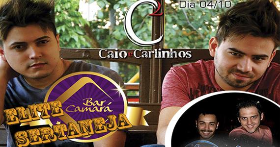 Sexta-feira é dia de Elite Sertaneja com Caio e Carlinhos no Bar Camará Eventos BaresSP 570x300 imagem
