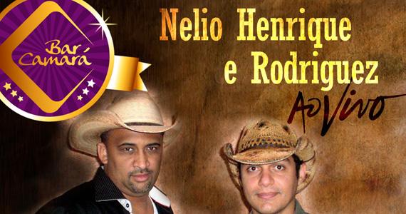 Nelio Henrique e Rodriguez se apresentam no palco do Bar Camará com muito sertanejo Eventos BaresSP 570x300 imagem
