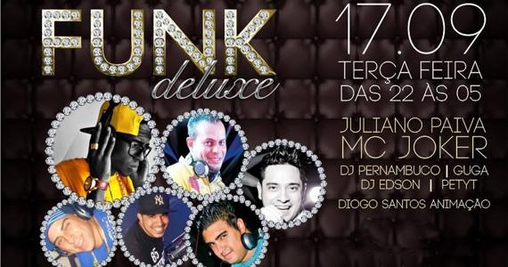 Funk Deluxe agita a noite com MC Joker nesta terça-feira no Candieiro Bar Eventos BaresSP 570x300 imagem
