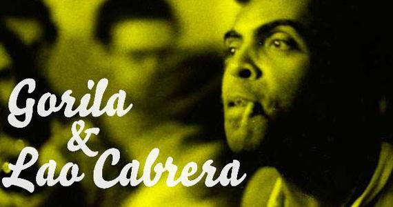 Caos Brasil com DJs Gorila e Lao Cabrera nesta quarta-feira no Bar Caos Eventos BaresSP 570x300 imagem