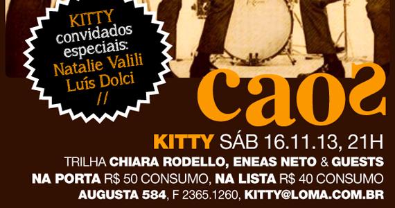 Festa Kitty recebe atração especial para agitar o sábado do Bar Caos Eventos BaresSP 570x300 imagem