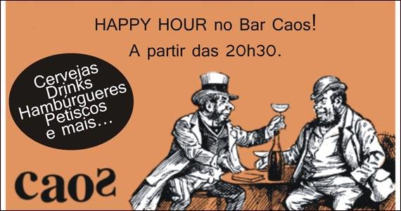 Bar Caos oferece happy hour com drinks especiais nesta terça-feira Eventos BaresSP 570x300 imagem