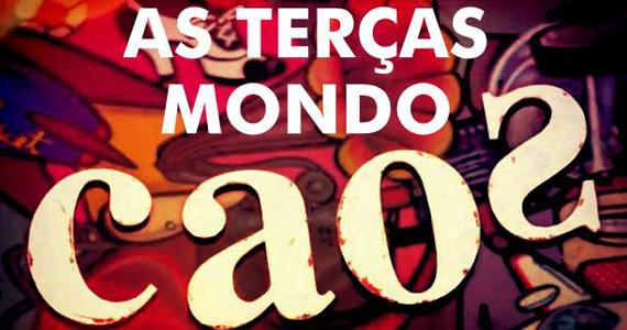 Mondo Caos agita a noite com entrada FREE e DJ surpresa na terça-feira no Bar Caos Eventos BaresSP 570x300 imagem