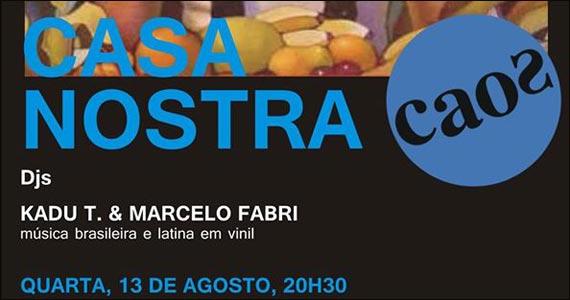 Bar Caos apresenta na quarta-feira a Festa Casa Nostra Eventos BaresSP 570x300 imagem