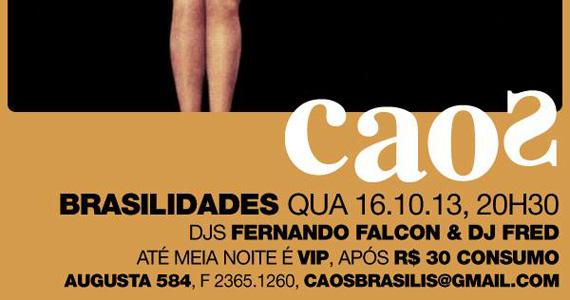 Festa Brasilidades embala a noite de quarta-feira com muita música no Bar Caos Eventos BaresSP 570x300 imagem