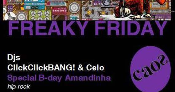 Caos embala a noite de sexta-feira com a Festa Freaky Friday Eventos BaresSP 570x300 imagem