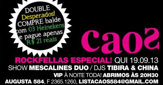 Festa Rockfellas agita a noite de quinta-feira no Bar Caos Eventos BaresSP 570x300 imagem