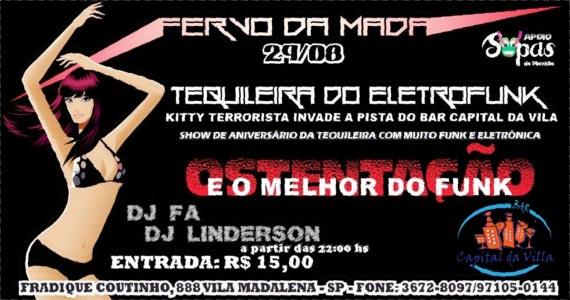 Capital da Villa recebe na sexta-feira Fervo da Mada com Eletrofunk, Tequileira e DJ Eventos BaresSP 570x300 imagem