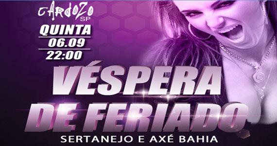 Sertanejo e Axé com show ao vivo no Cardozo Bar Eventos BaresSP 570x300 imagem