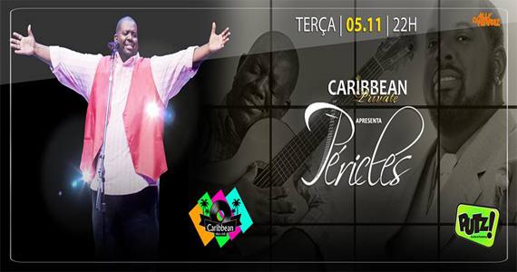 Cantor Péricles embala a noite com muito samba e pagode no Caribbean Disco Club Eventos BaresSP 570x300 imagem