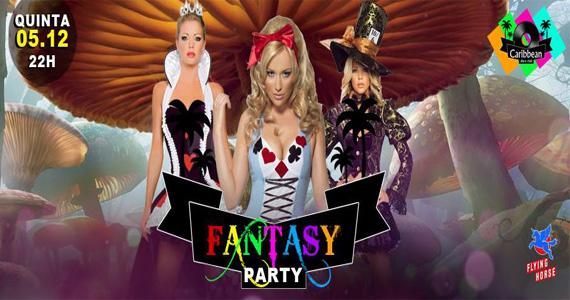Festa a Fantasia com bateria da Rosas de Ouro nesta quinta-feira no Caribbean Disco Club Eventos BaresSP 570x300 imagem