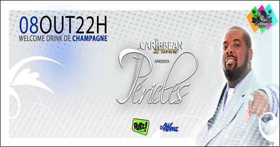 Cantor Péricles embala a noite desta terça-feira com muito samba e pagode no Caribbean Disco Club Eventos BaresSP 570x300 imagem