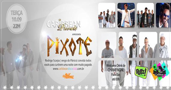 Caribbean Disco Club recebe o pagode do grupo Pixote para animar a terça-feira Eventos BaresSP 570x300 imagem