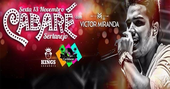 Victor Miranda agita a Festa Cabaré no palco do Caribbean Disco Club Eventos BaresSP 570x300 imagem