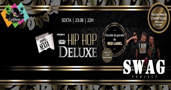 Caribbean Disco Club apresenta Hip Hop Deluxe nesta sexta-feira Eventos BaresSP 570x300 imagem