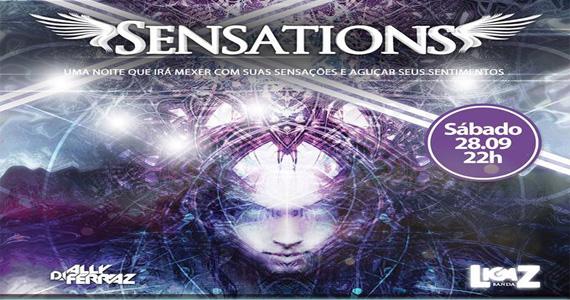 Festa Sensations agita a noite de sábado no Caribbean Disco Club Eventos BaresSP 570x300 imagem