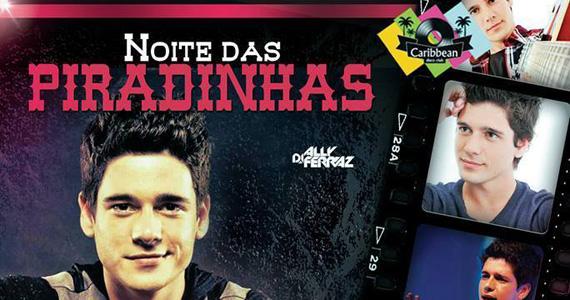 Noite das Piradinhas com o cantor Rodrigo Rios nesta sexta-feira no Caribbean Disco Club Eventos BaresSP 570x300 imagem