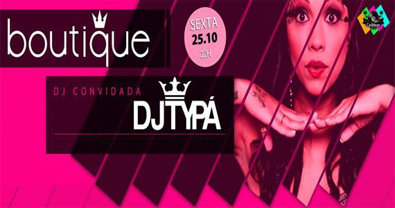 Festa Boutique recebe DJ Typá para esquentar a pista de dança do Caribbean Disco Club Eventos BaresSP 570x300 imagem