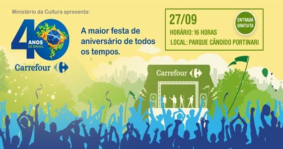 Carrefour comemora 40 anos com Show de Jota Quest e convidados Eventos BaresSP 570x300 imagem