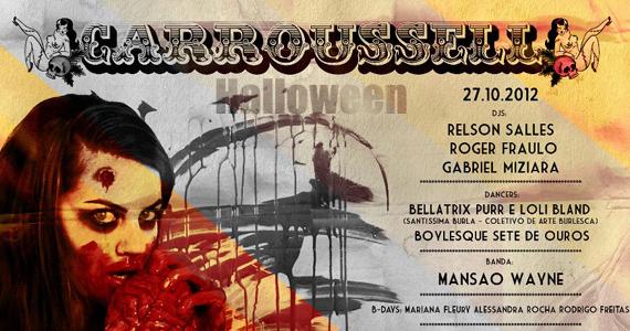 Halloween da Carroussell acontece neste sábado na Kitsch Club Eventos BaresSP 570x300 imagem