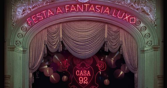 Casa 92 recebe Festa a Fantasia para embalar a noite de quinta-feira Eventos BaresSP 570x300 imagem