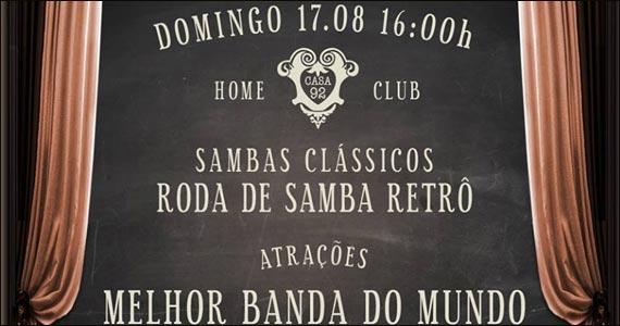 Casa 92 realiza neste domingo a Festa Botequinho Chic  Eventos BaresSP 570x300 imagem