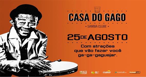 3ª edição da Casa do Gago, no Espaço Santa Aldeia, recebe shows de Naldo Benny e Art Popular Eventos BaresSP 570x300 imagem