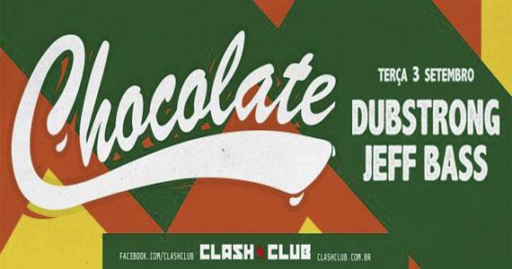 DJs Jeff Bass e Dubstrong formam o line up da festa Chocolate na Clash Club Eventos BaresSP 570x300 imagem