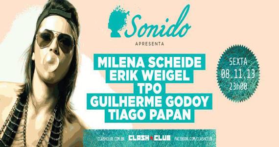 Festa Sonido recebe DJs para agitar a noite de sexta-feira da Clash Club  Eventos BaresSP 570x300 imagem