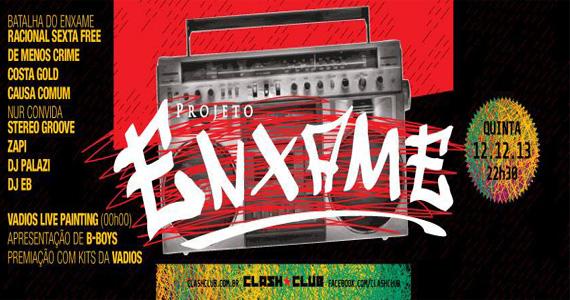 Projeto Enxame com DJs nas pick-ups agitam a noite da Clash Club Eventos BaresSP 570x300 imagem
