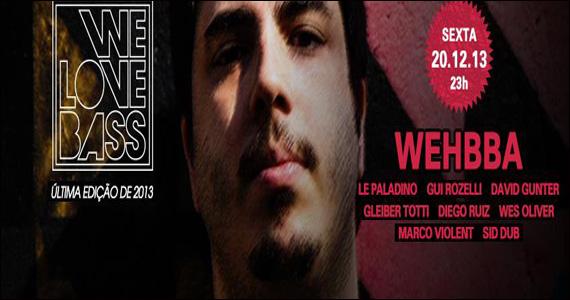 Clash Club apresenta na sexta-feira a Festa We Love Bass  Eventos BaresSP 570x300 imagem