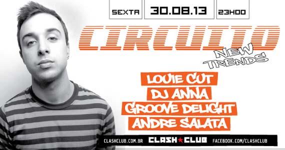 Clash Club tem festa Circuito New Trends nesta sexta-feira Eventos BaresSP 570x300 imagem