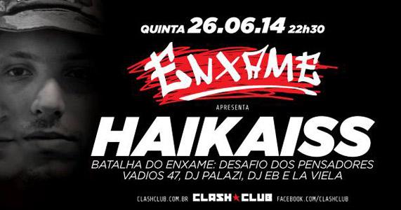 Clash Club apresenta na quinta-feira a Festa Enxame  Eventos BaresSP 570x300 imagem