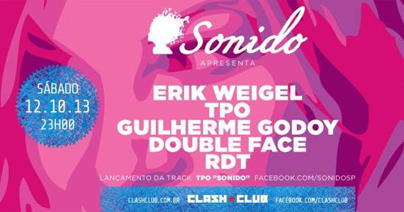 Festa Sonido embala a noite de sábado na Clash Club Eventos BaresSP 570x300 imagem
