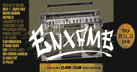 Projeto Enxame agita a véspera de feriado com DJs comandando a pista na Clash Club Eventos BaresSP 570x300 imagem