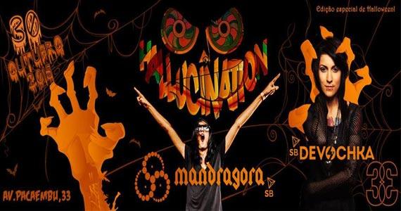 Club 33 recebe Festa Hallucination na Noite de Halloween sexta a noite Eventos BaresSP 570x300 imagem