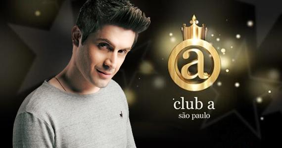 Gabriel Valim se apresenta no Club A São Paulo nesta quinta-feira Eventos BaresSP 570x300 imagem