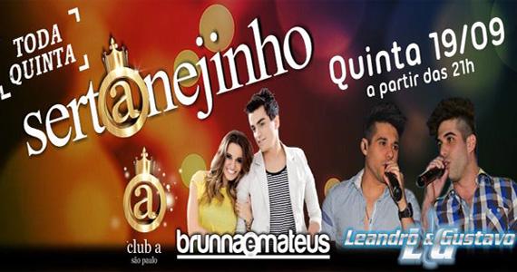 Club A tem mais uma edição da festa Sertanejinho nesta quinta-feira  Eventos BaresSP 570x300 imagem