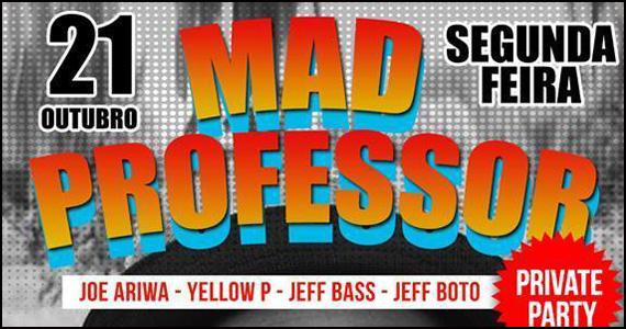 Clube Glória embala a noite de segunda com participação de Mad Professor Eventos BaresSP 570x300 imagem