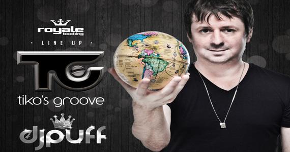 Club Royal recebe Tikos Groove e DJ Puff para animar a noite de terça-feira Eventos BaresSP 570x300 imagem