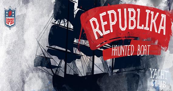 Festa Republika especial de Halloween agita a noite com DJs convidados nesta quinta-feira no Club Yacht Eventos BaresSP 570x300 imagem