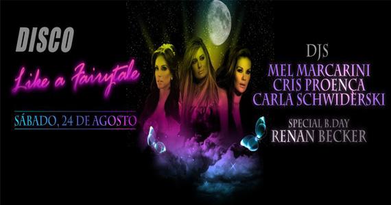 Festa Like a Fairytale agita a noite com DJs mulheres no comando na Club Disco Eventos BaresSP 570x300 imagem