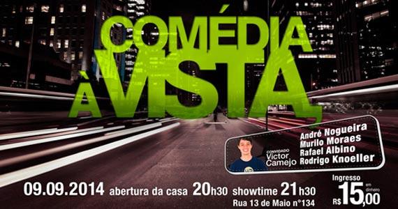 Café Piu Piu apresenta Comédia à Vista com André Nogueira e Convidados Eventos BaresSP 570x300 imagem