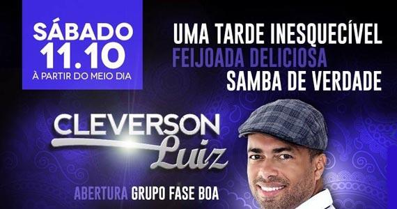 Feijoada do Comparsa com show de Cleverson Luiz anima à tarde de sábado no Comparsa Bar Eventos BaresSP 570x300 imagem