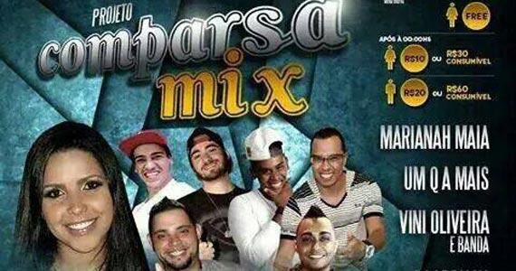 Projeto Comparsa Mix com diversas atrações no Comparsa Bar Eventos BaresSP 570x300 imagem