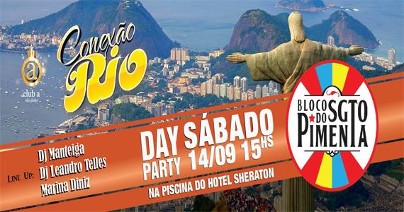 Club A São Paulo WTC apresenta neste sábado a terceira edição da festa Conexão Rio Eventos BaresSP 570x300 imagem
