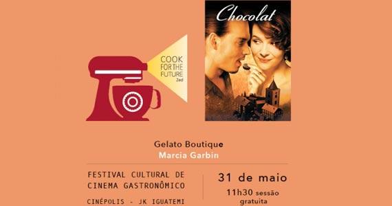Cook for the Future - Filme Chocolat- Gelato Boutique Eventos BaresSP 570x300 imagem