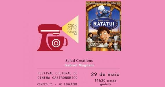 Cook for the Future - Filme Ratatui- Salad Creations Eventos BaresSP 570x300 imagem